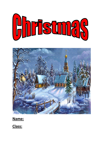 Christmas activity booklet by kayld - Teaching Resources - Tes