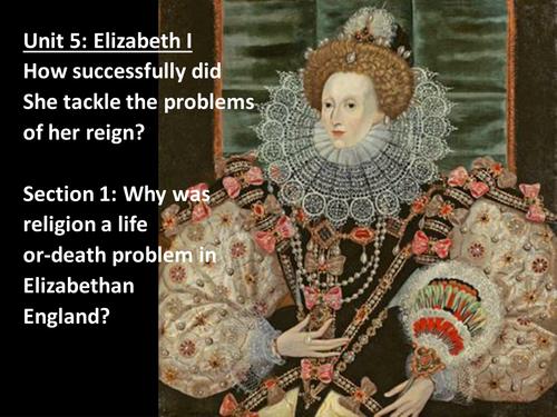 Elizabeth 1 and edward Campion