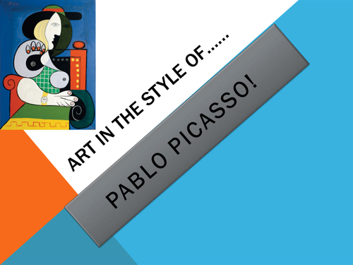pablo picasso powerpoint by charlottebaldwin teaching resources tes