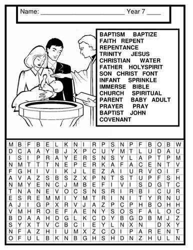 Infant baptism and baptism terminology