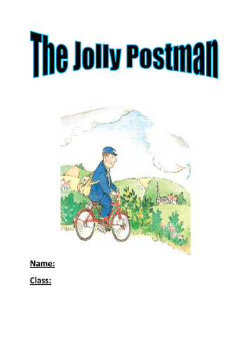 The jolly postman by janet and alan ahlberg by syapgp17 teaching the jolly postman activity booklet spiritdancerdesigns Images