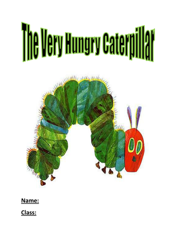the very hungry caterpillar activity booklet