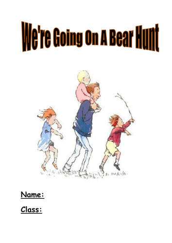 we 39 re going on a bear hunt activity booklet by kayld teaching resources. Black Bedroom Furniture Sets. Home Design Ideas