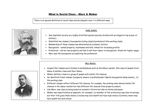 marx s and weber s conceptualizations of modernity Karl marx and max weber are recognized as two of the most prominent theorists of the 19th century many might argue that there are many similarities between these sociologist's theories.