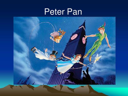 peter pan by uwe teaching resources tes