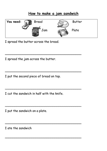 Rewrite the instructions using bossy verbs.