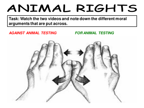 points against animal testing
