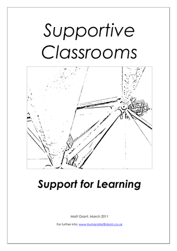 Supportive Classrooms Booklet 1