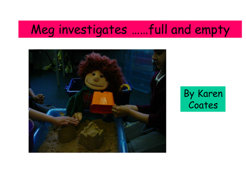 Pip and Meg's maths - <em>weighing</em> and capactiy