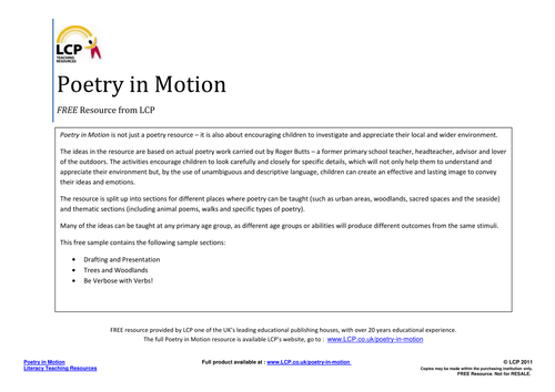 poem presentation ideas