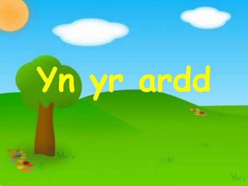 Yn yr ardd - welsh bugs, insects, minibeasts