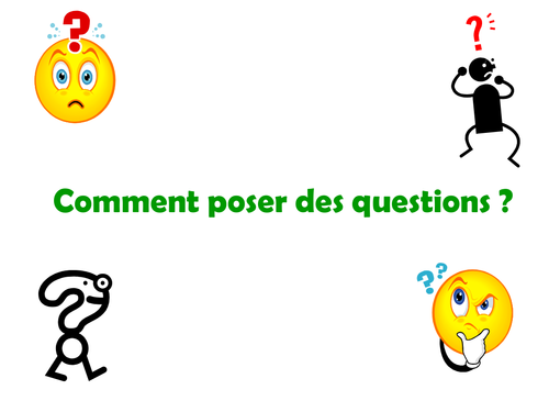 ppt and worksheet on question words in french by sommersprossen uk teaching resources tes. Black Bedroom Furniture Sets. Home Design Ideas