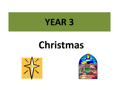 The Christmas Story with activities