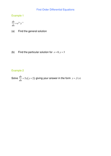 Volumes of Revolution by SRWhitehouse - Teaching Resources - Tes