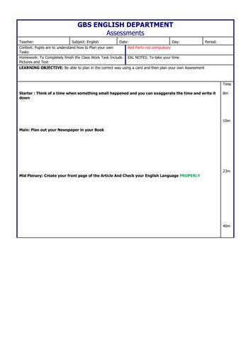 Writing Assessment 3