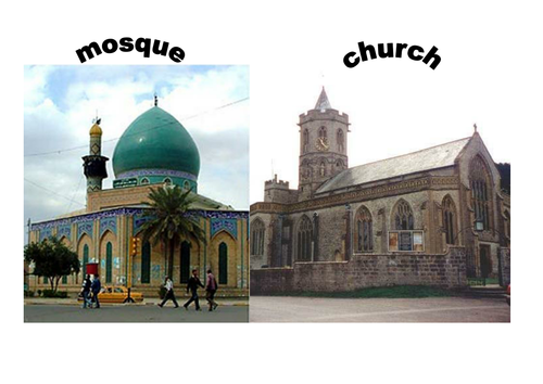 difference between church and mosque This article examines the transformation of the sacred landscape in the cities of syria and palestine from late antiquity to early islam this phase of urban and.