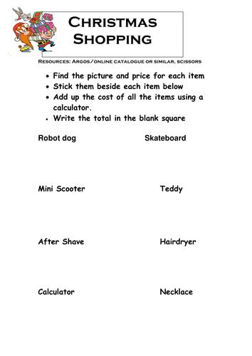 GCSE Maths: Christmas Puzzles by chuckieirish - Teaching Resources ...