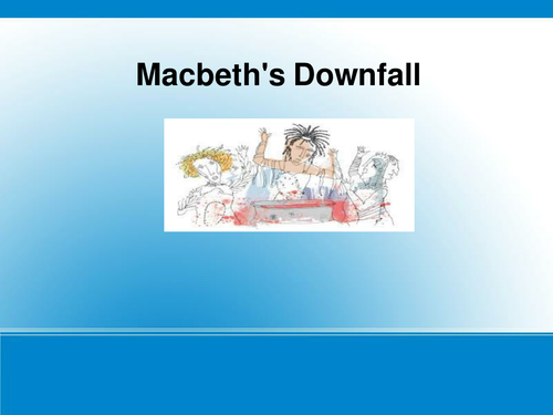 macbeth downfall essaymacbeth essay powerpoint   essay topics macbeth essay ppt preview resource