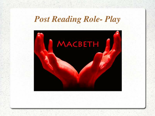 macbeth role of women Lady macbeth is the focus of much of the exploration of gender roles in macbeth as lady macbeth propels her husband toward murdering duncan, she indicates that  how were women treated in ancient rome  how does shakespeare play with gender roles in macbeth.