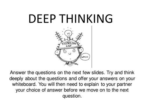 Death and the afterlife: deep thinking questions by maz1