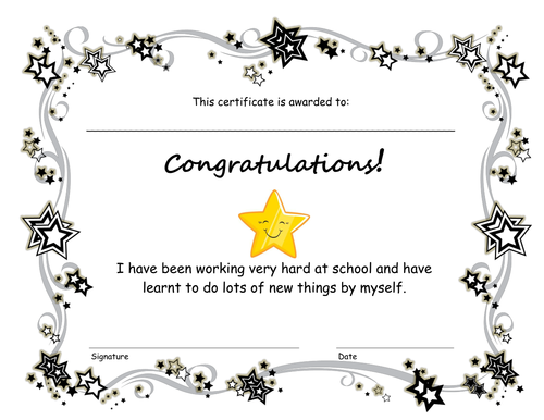 End of term congratulations certificate by pinguina81 - Teaching ...