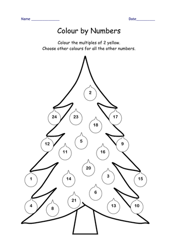 Number Names Worksheets year two maths worksheets : Christmas maths Year 2 Block E Unit 1 by Leawhite - Teaching ...
