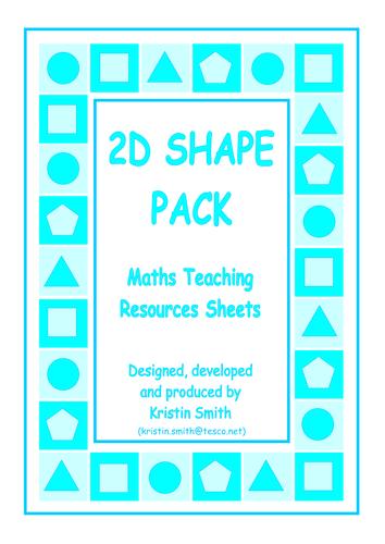 Matching Cards - 2D Shapes Pack by mrbuckton4maths - Teaching ...