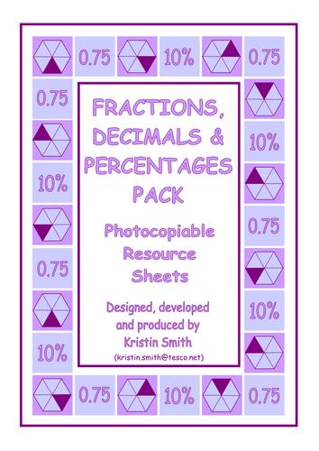 Maths Matching Cards - Equivalences KS2, KS3. (7+)