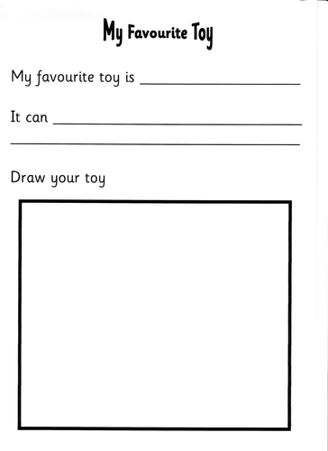 favorite toy essay my favorite toy essay