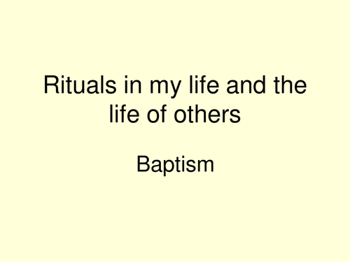 Baptism Symbols And Their Meanings By Senteachinginfo Teaching