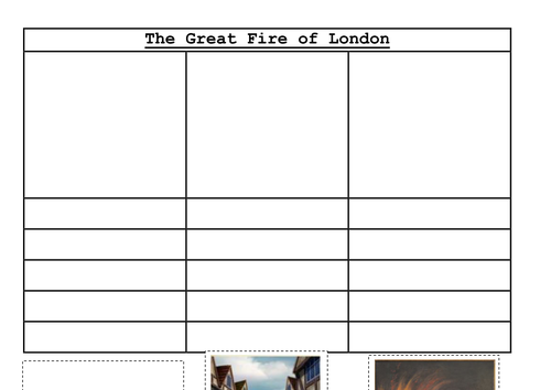 great fire of london timeline of events ks1 by uk teaching resources tes. Black Bedroom Furniture Sets. Home Design Ideas