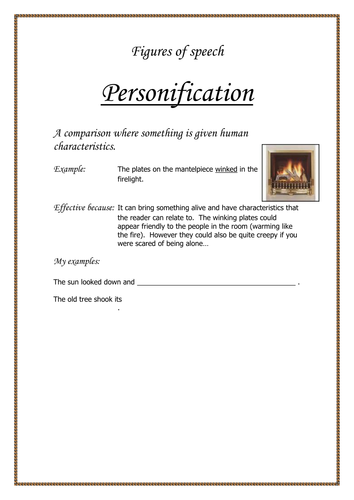 poetic techniques worksheets by temperance teaching resources. Black Bedroom Furniture Sets. Home Design Ideas