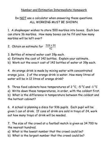 Ks3 maths homework help
