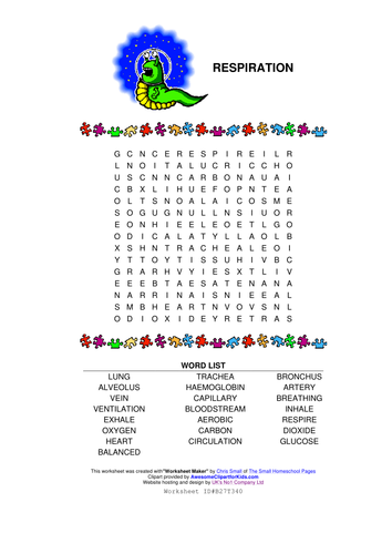 Edit Pdf In Word >> respiration wordsearch by raj.nandhra - Teaching Resources - Tes