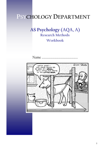 Research Methods Booklet 3