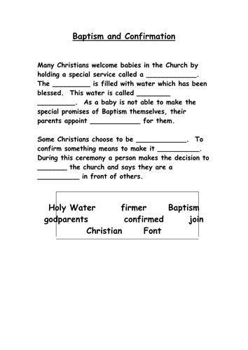 baptism worksheets for middle school baptism best free printable worksheets. Black Bedroom Furniture Sets. Home Design Ideas