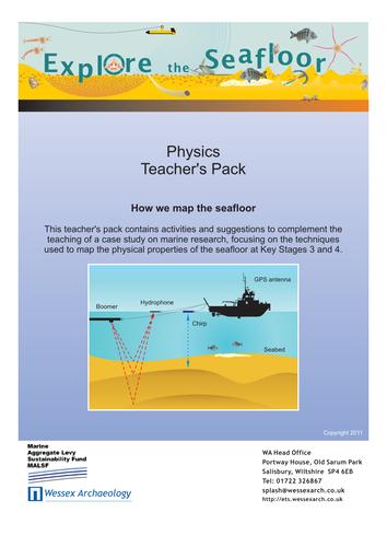 Explore the Seafloor Physics Teacher's Pack