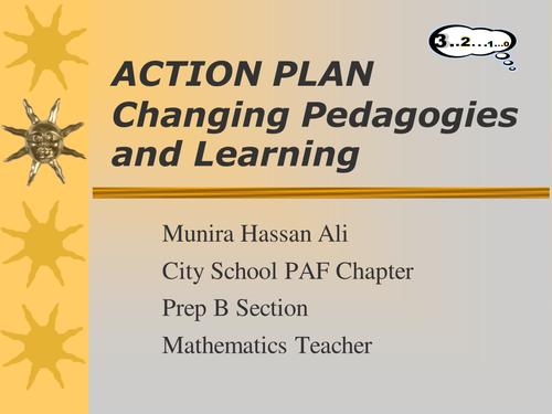 Power Point presentation on actionplan maths