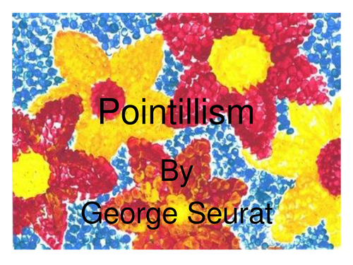 Pointillism 6158415 on Seaside Word Search