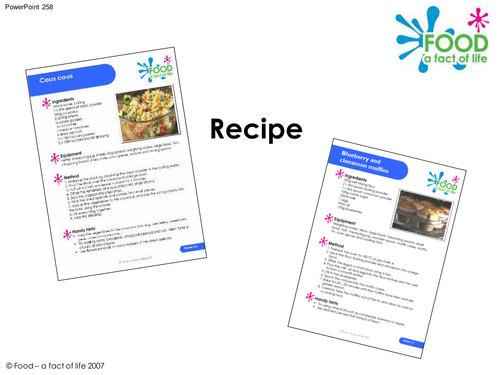Cooking - Recipe PowerPoint