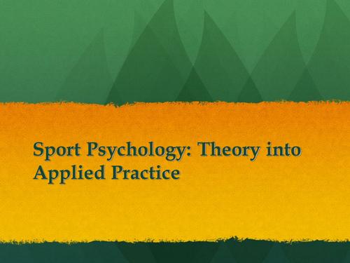 The Sport Psychology Network