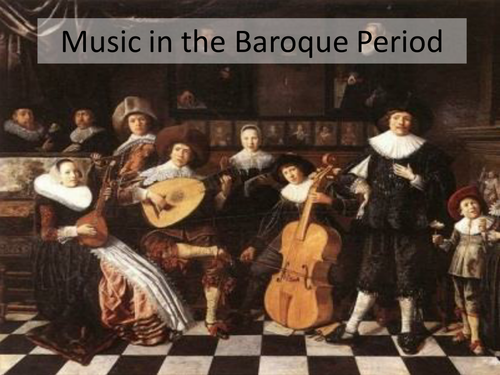Baroque music presentation by hayleymusic teaching for Characteristics of baroque period