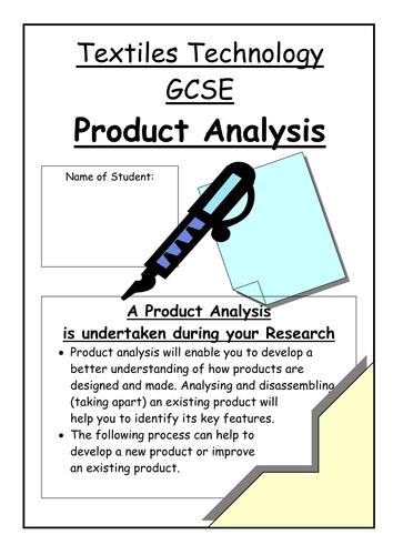 Task Analysis Product Design