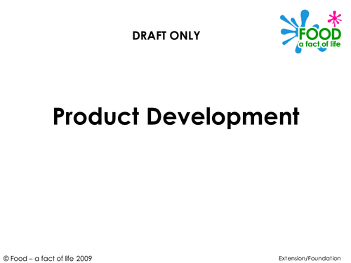 Food Product Development : Food product development by uk