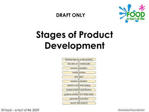 food product development essay