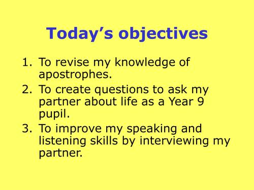 purpose of declarative sentences