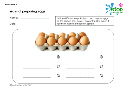 parts of an egg worksheet by foodtechfanatics uk teaching resources tes. Black Bedroom Furniture Sets. Home Design Ideas