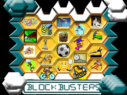 'Sport' Blockbuster Game for use in French / German / Spanish / EAL / Other Languages