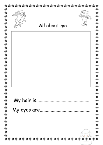 ALL ABOUT ME Booklet By Slilachand
