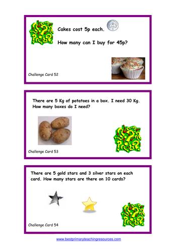 Challenge Cards - Set 4